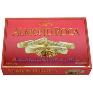 Picture of Brown Haley Almond Roca Chocolate  in Gift Box 4.2 oz
