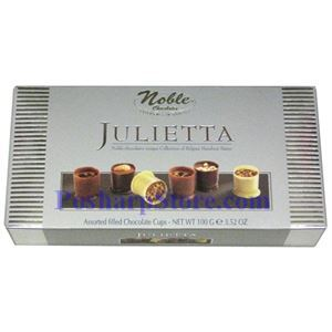 Picture of Noble Chocolates Jullietta Assorted Chocolate Cups 3.5 oz