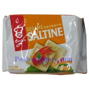 Picture of Garden Sesame Saltine Cracker 3.5 oz