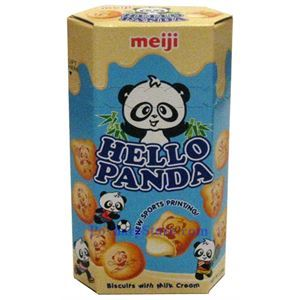 Picture of Meiji Hello Panda Biscuits with Milk Cream 2.0 oz