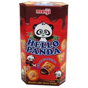 Picture of Meiji Hello Panda Biscuits with Choco Cream 2.0 oz