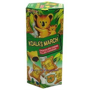 Picture of Lotte Koala's March Chocolate Creme Filled Cookies 1.45oz