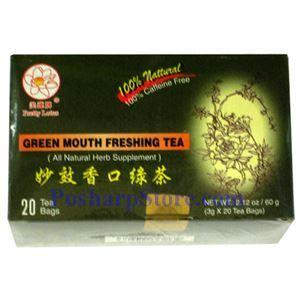 Picture of Pretty Lotus Green Mouth Freshing Tea 20 Teabags