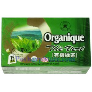 Picture of Butterfly Brand Organic Green Tea 25 Sachets