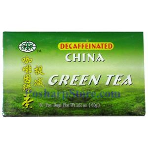Picture of GTR Decaffeinated China Green Tea  20 Teabags