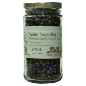 Picture of White Dragon Ball Premium Jasmine Green Tea 5oz