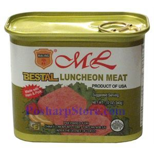 Picture of Maling Bestal Luncheon Meat with Ham and Pork 12 oz