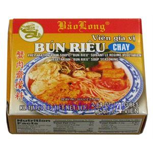 "Picture of Bao Long Vegetarian ""Bun Rieu"" Soup Seasoning  2.64 oz"
