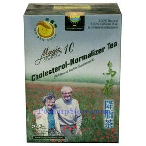 Picture of Golden Child Cholesterol Normalizer Tea (Magic Herb Tea 10) 24 Teabags