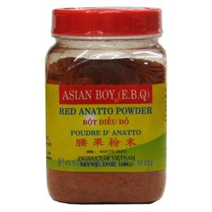 Picture of Asian Boy Red Anatto Powder (Bot Dieu Do) 3.5 oz
