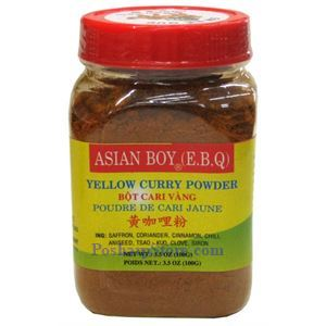 Picture of Asian Boy Yellow Curry Powder (Bot Cari Vang) 3.5 oz