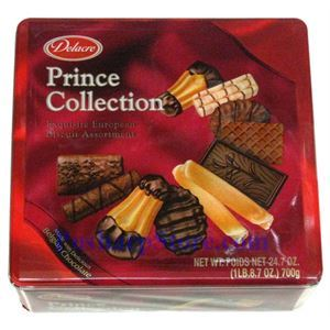 Picture of Delacre Prince Selection Exquisite European Biscuit Assortment 24.7 oz
