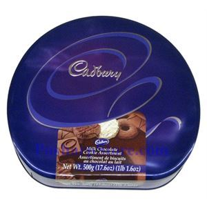 Picture of Cadbury Milk Chocolate Cookie Assortment 17.6 oz