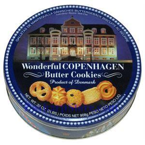 Picture of Jacobson Bakery Wonderful Copenhagen Butter Cookies 2 lbs