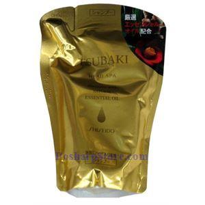 Picture of Shiseido Tsubaki Head Spa Shampoo with Essential Oils Refill 400ML