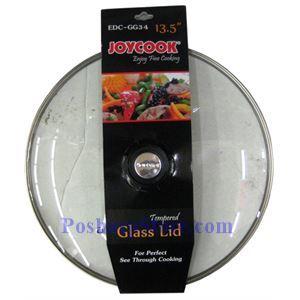图片 Joycook EDC-GG34 13.5英寸不锈钢包边玻璃锅盖