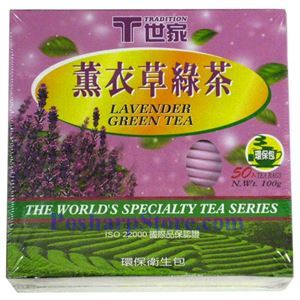 Picture of Tradition Lavender Green Tea 50 Teabags