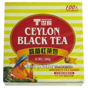 图片 世家牌锡南红茶包 100茶袋