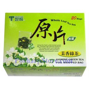 Picture of Tradition Jasmine Green Tea Whole Leave 20 Foil Wrapped Bags