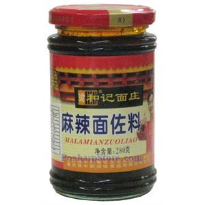 Picture of Chongqing Heji Mala Spicy Sauce for Noodles 9.8 oz