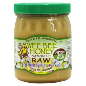 Picture of Wee Bee Naturally Raw Honey 2 lbs