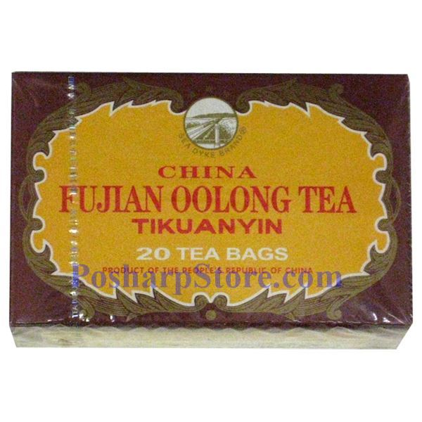 Picture for category Sea Dyke Fujian Oolong Tea Tikuanyin 20 Teabags