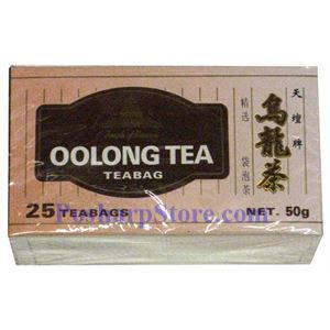 Picture of Temple of Haven Premium Oolong Tea 25 Teabags