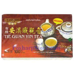 Picture of V-Kang Mai Organic Tie Guan Yin Tea 100 Teabags