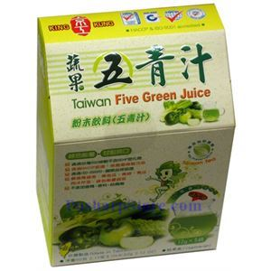 Picture of King Kung Taiwan Five Green Jiuce