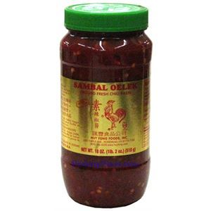 Picture of Huy Fong Sambal Oelek Ground Fresh Chili Paste 18 oz