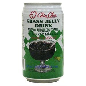 Picture of Chin Chin Grass Jelly Drink with Honey Flavor 11 Fl.Oz