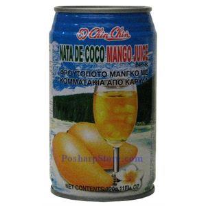 Picture of Chin Chin Nata De Coco Mango Juice Drink 11 Fl.Oz
