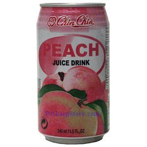 Picture of Chin Chin Peach Juice Drink 11.5 Fl.Oz