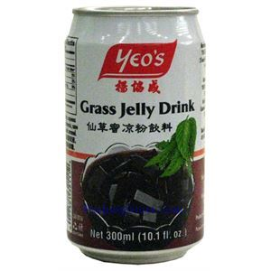 Picture of Yeo's Grass Jelly Drink - Authentic Asian Drink 10.1 Fl.Oz