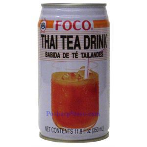 Picture of Foco Thai Tea Drink 11.8 Fl.Oz