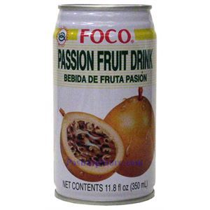 Picture of Foco Passion Fruit Drink 11.8 Fl.Oz
