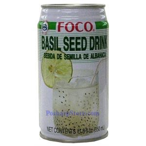 Picture of Foco Basil Seed Drink 11.8 Fl.Oz