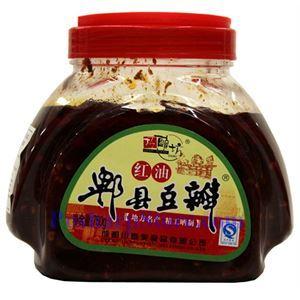 Picture of Chuanxiangmei QiaoNiangFang Pixian Chili Broad Bean Paste with Oil (Doubanjiang) 1.6 lbs
