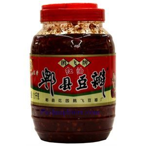 Picture of Chengdu Jiuanfei Pixian Broad Bean Paste With Chili Oil (Doubanjiang) 2.4 lbs