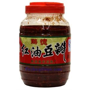 Picture of Chengdu Juande Pixian Chili Broad Bean Paste in Oil (Doubanjiang) 2.4 lbs