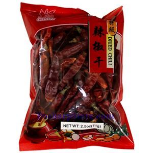 Picture of Green Day Dried Premium Chili  Peppers