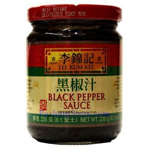 Picture of Lee Kum Kee Black Pepper Sauce 8.1 Oz