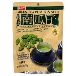 Picture of Shengxiangzhen Green Tea Pumpkin Seeds 4.6 oz