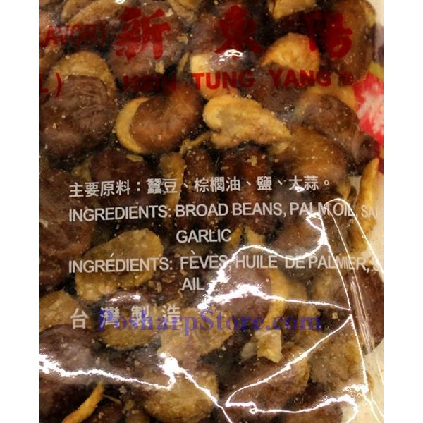Picture for category Hsin Tung Yang Broad Beans with Garlic Flavor  5.2oz