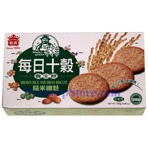 Picture of I-Mei Multi-Grain Biscuit with Brown Rice and Bran 4.69 oz