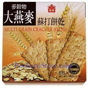 Picture of I-Mei Multi-Grain Oat Crackers 4.76 oz