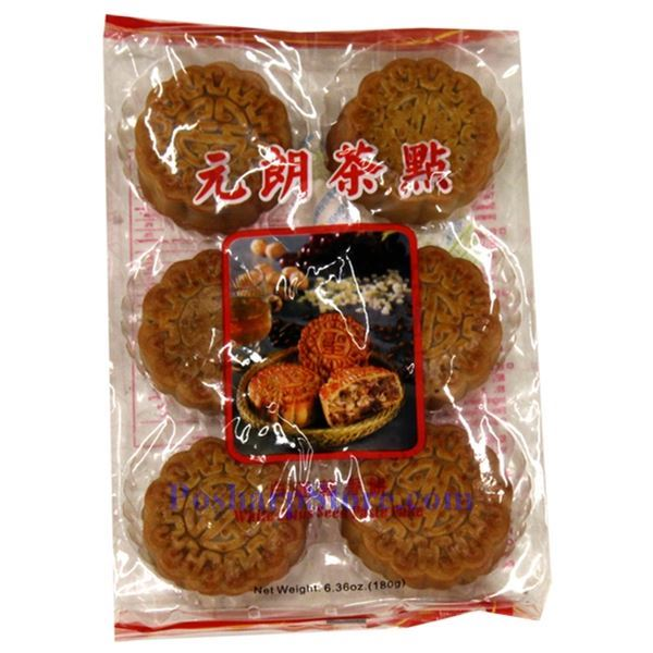 Picture for category Tiancheng Lotus Seed Paste Mini Mooncake 6.35 Oz