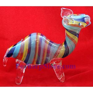 "Picture of Animal Glass Pipe Inside Out 3.5""  No.4019"