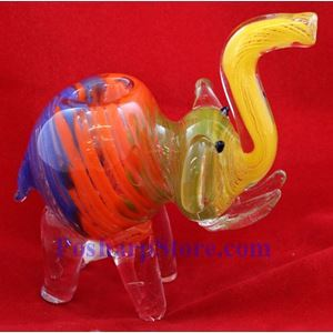 "Picture of Animal Glass Pipe Inside Out 4""  No.4025"