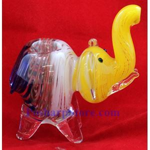 """Picture of Animal Glass Pipe Inside Out 4"""""""